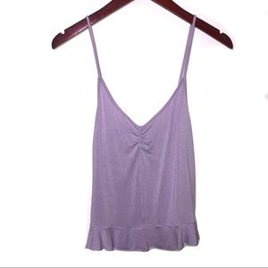 American Eagle soft & sexy lilac girly tank top